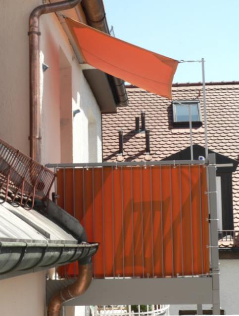 Sonnensegel Balkonbespannung